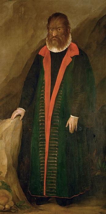 Портрет Педро Гонсалеса.