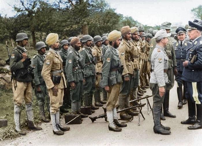 Индийский легион под Бордо.