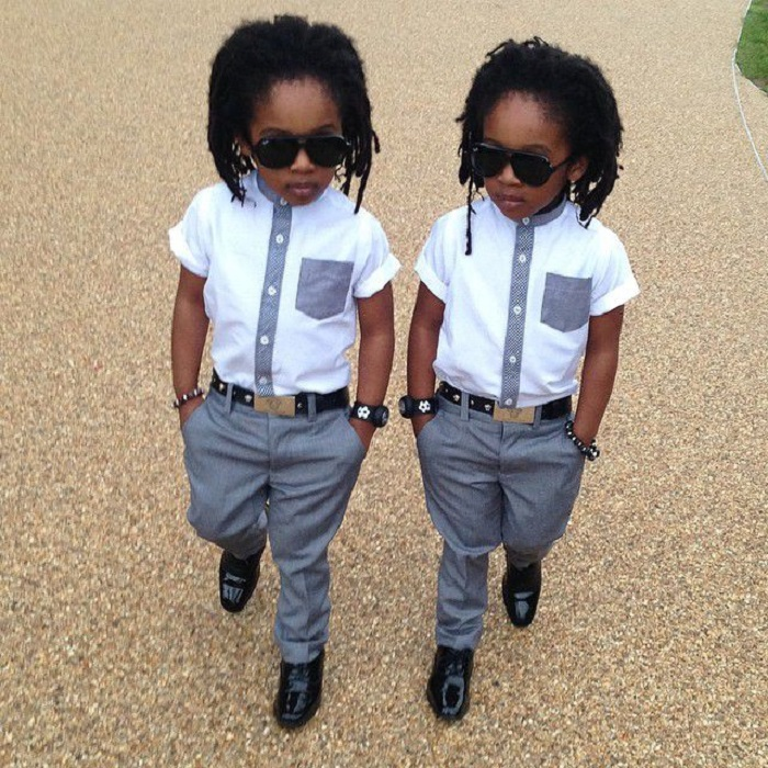 Если бы эти мальчики родились в племени ашанти, они бы сделали придворную карьеру.