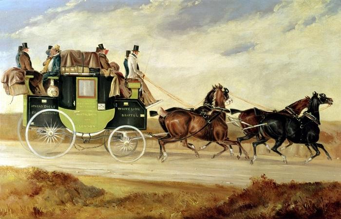 Чем отличались кочи от дилижансов, а кэбы от фиакров: Общественный транспорт прошлого.