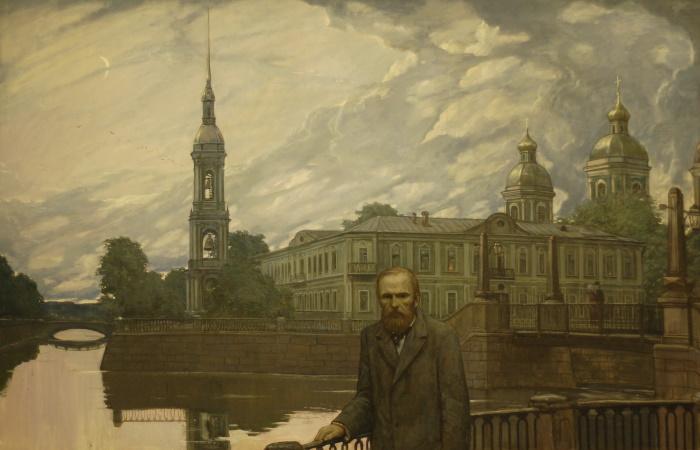 Картина Ильи Глазунова.