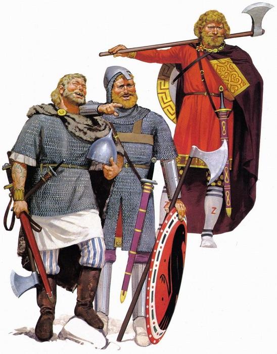 Владимир некогда и сам использовал варягов, чтобы устроить переворот. Норвежская дружина Ярослава заставляла его нервничать.