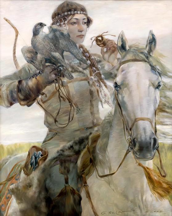 Поляница на рисунке Б. Гильванова
