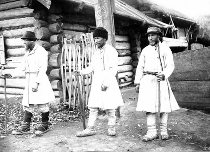 Марийцы в начале двадцатого века.
