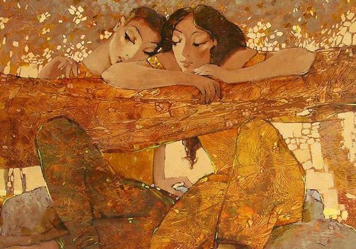 Картина Екатерины Ляшко.