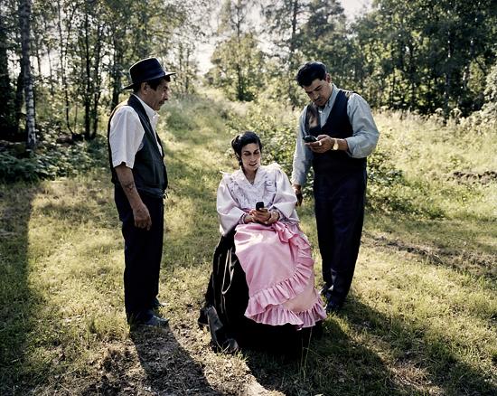 Йоаким Эскельдсен, цыгане Финляндии в национальных костюмах