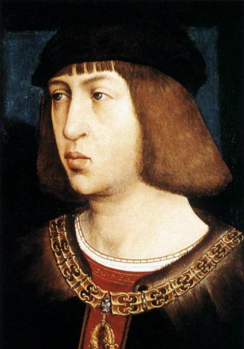 Филипп Красивый, первый Габсбург на троне Испании.