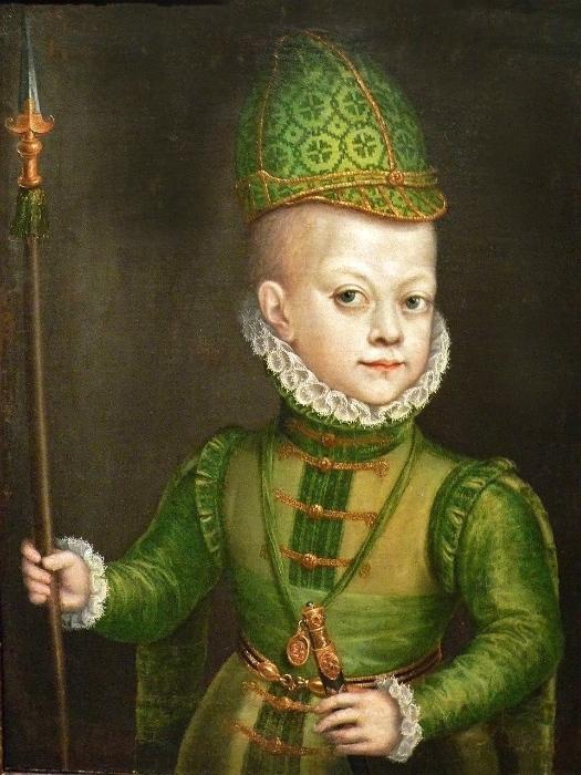 Хотя родители Филиппа III были в близком родстве, сам он казался совершенно нормальным мальчиком.