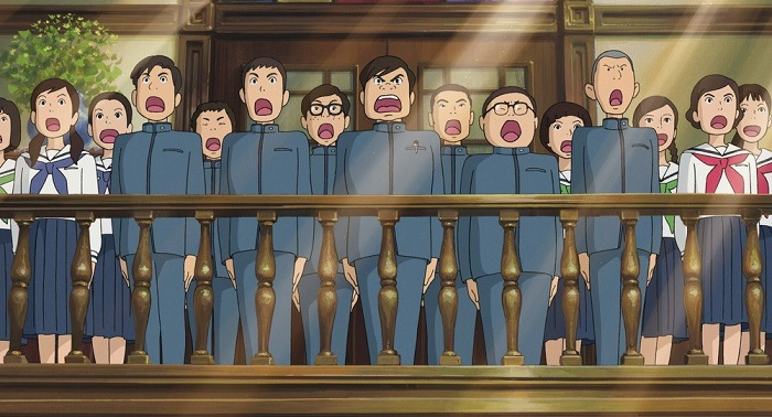 Кадр из мультфильма «Со склонов Кокурико».