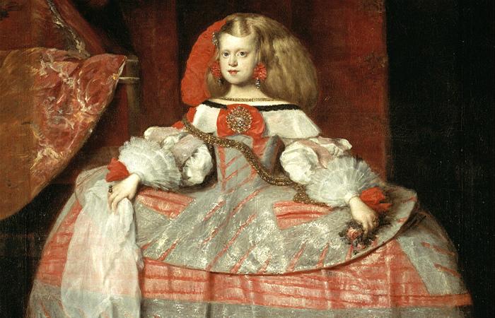Испанские Габсбурги были очень специфической королевской династией. Портрет одной из принцесс.