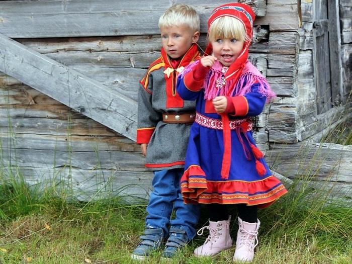 Саамы - самый древний народ Финляндии.