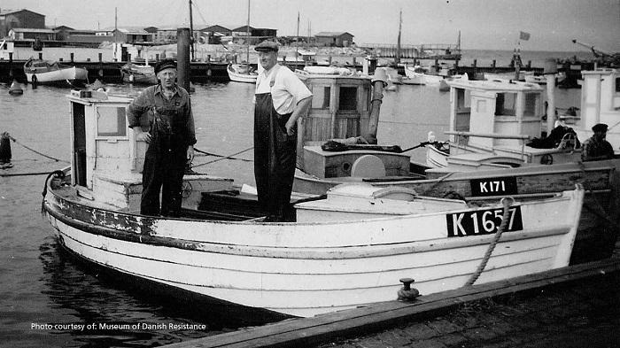 Датские рыбаки проявили мало гражданской сознательности.