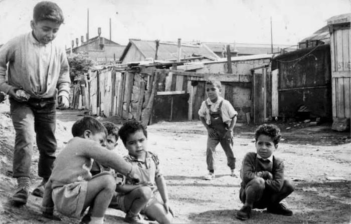 Алжирские трущобы