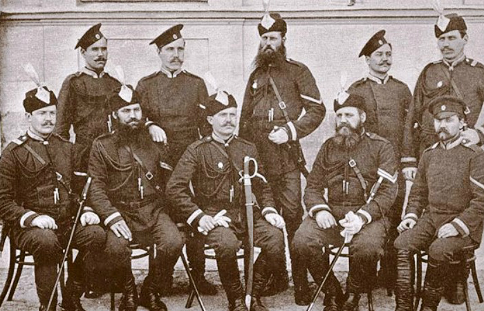 Сотрудники Самарского жандармского Отделения