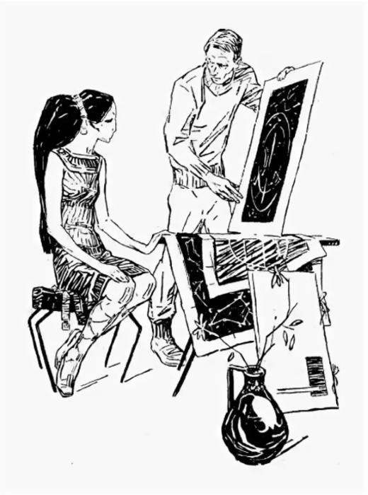Иллюстрация Льва Рубинштейна.