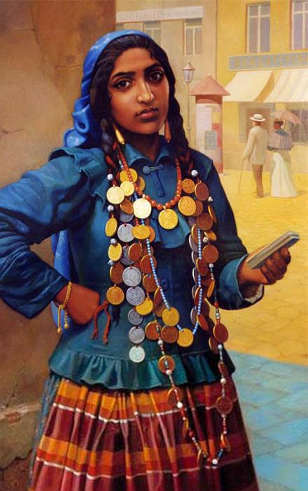 Николай Бессонов, «Котлярка». Котляры - племя цыган, вышедшее из Румынии