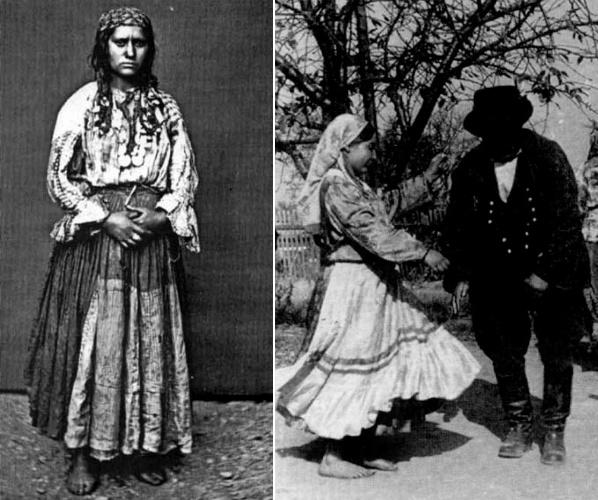 Цыганки-котлярки, XIX и XX века
