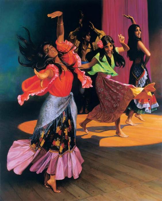 Николай Бессонов, «Цыганский танец»