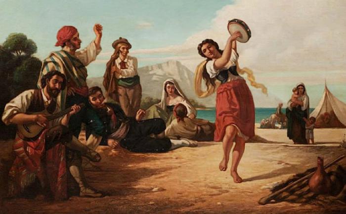 Энтони Рени, испанские цыгане во Франции