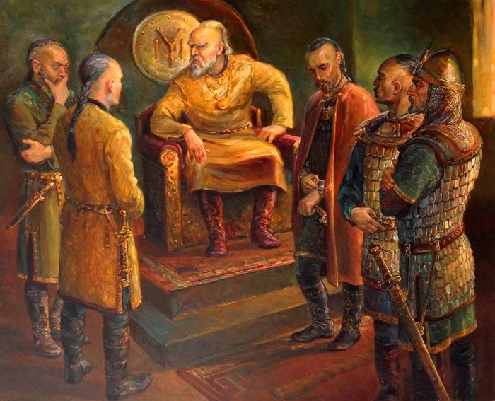 Сыновья хана Кубрата вошли в легенды и летописи разных народов Запада и Востока.