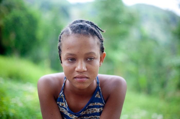 Девочка из польской общины Гаити.