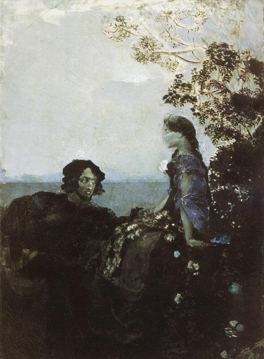 Картина Михаила Врубеля.