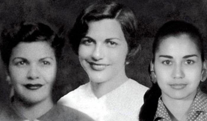 Коллаж из фотографий трёх из сестёр.