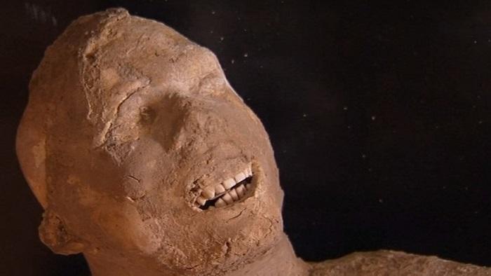 Останки жителей Помпей поражают своими хорошими зубами.