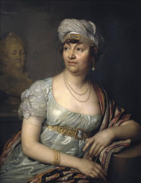 Мадам де Сталь в зрелом возрасте.