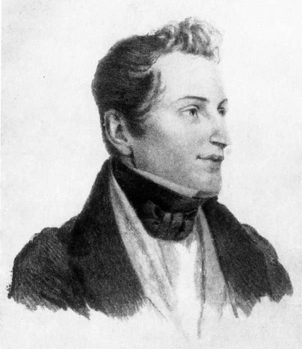 Портрет молодого Гоголя от Алексея Венецианова.