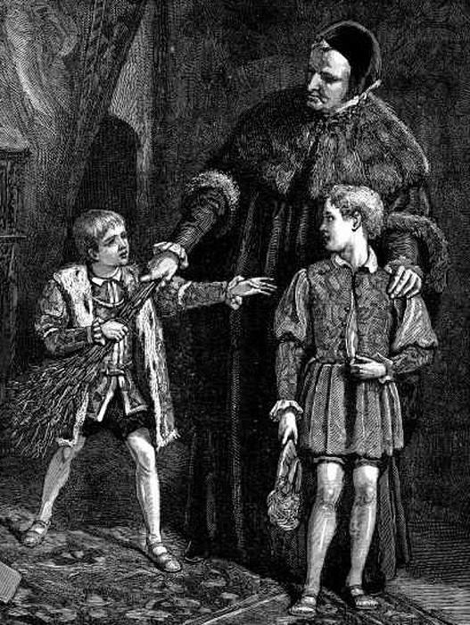Поркой мальчика для битья можно было довести принца до слёз. Так считалось.