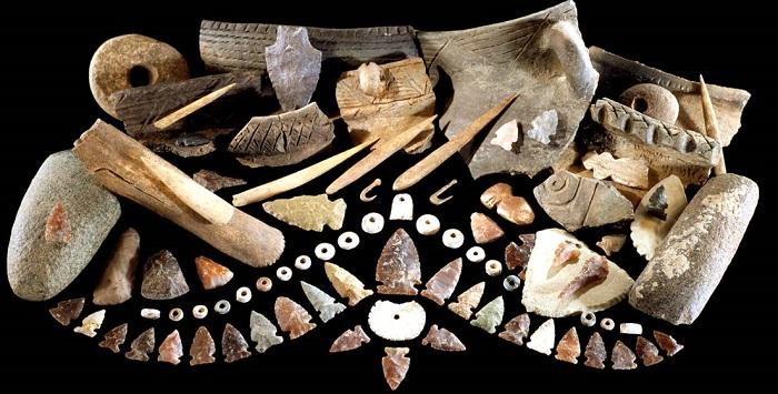 Всё это сделано в каменном веке.
