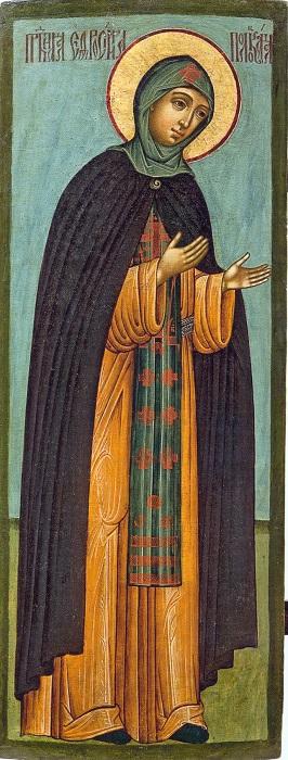 Икона преподобной Евфросиньи Полоцкой.