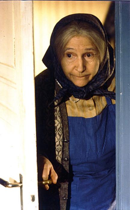 Анне-Катарина в роли бабушки.