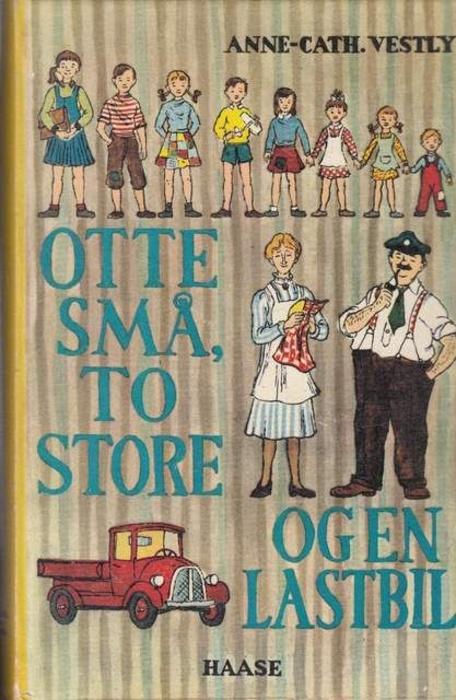 Обложка книги про восемь детей от Юхана Вестли.