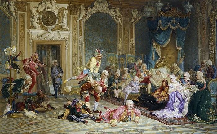Картина Валерия Якоби.