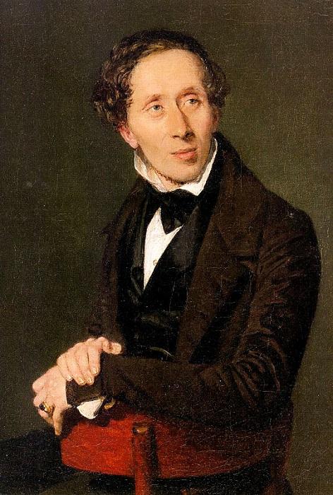 Портретисты старались приукрасить Андерсена, и всё равно по портретам заметно, что он был неказист на вид.