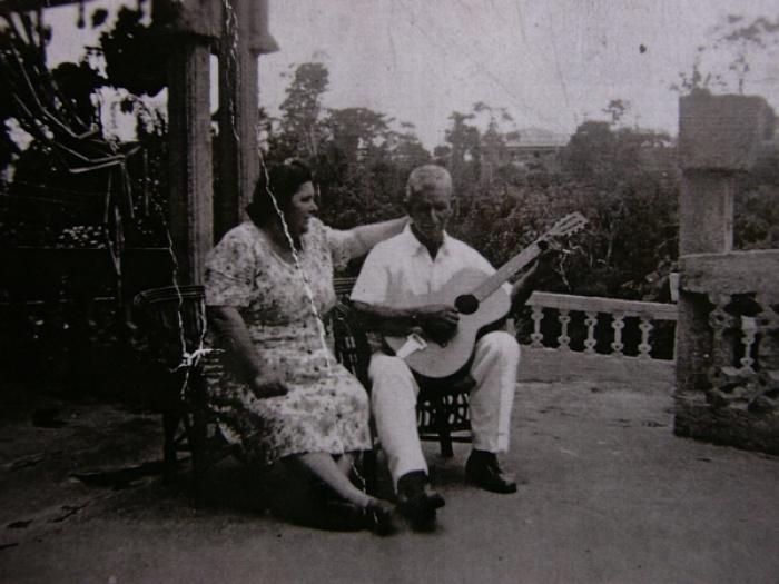 Хосе и Маргарита прожили вместе всю жизнь.