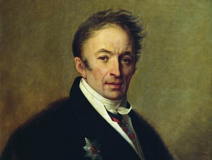 Портрет Карамзина кисти Алексея Гавриловича Венецианова.