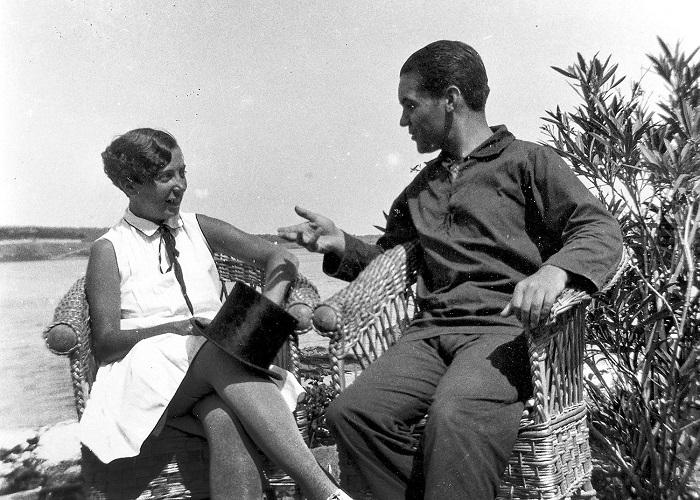 Ана Мария Дали и дон Федерико.