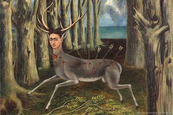 Картина Фриды Кало.