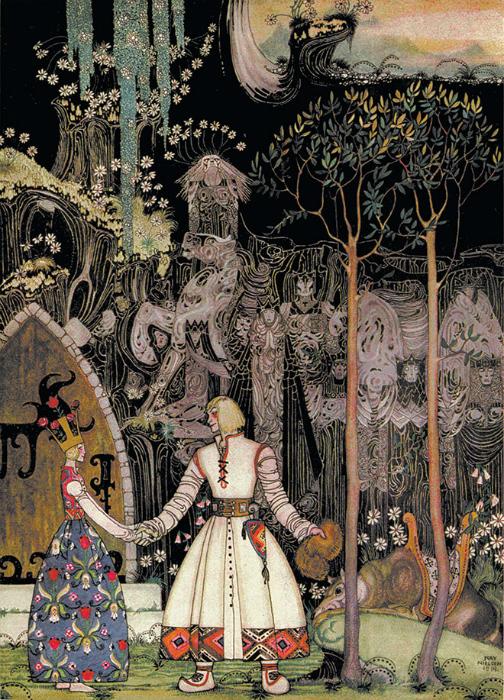 Норвежские сказки от Кая Нильсена