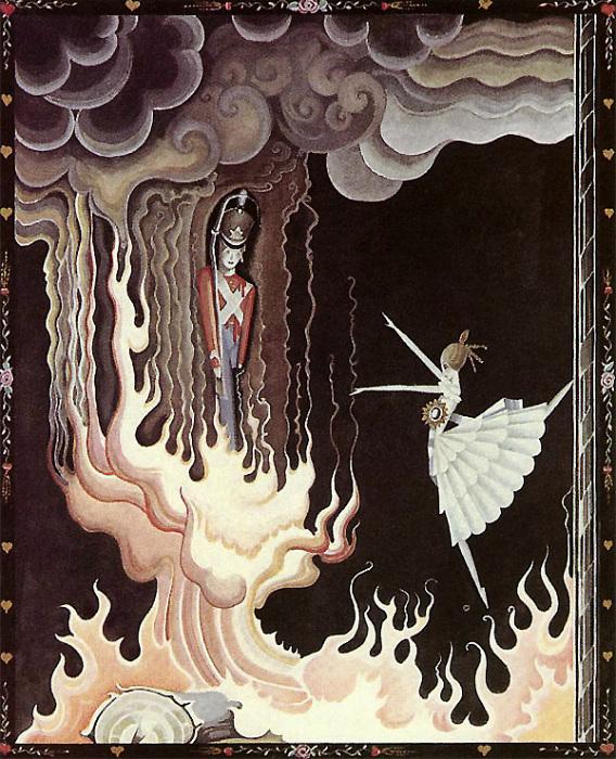 Стойкий оловянный солдатик и балерина из сказки Андерсена