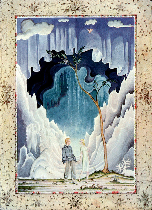 Кай и Герда из сказки Андерсена