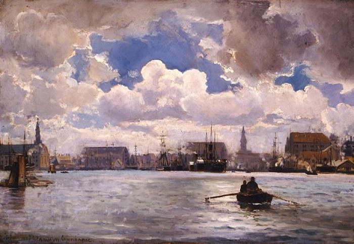Копенгаген постоянно атаковали с моря, но обычно не пехотой.