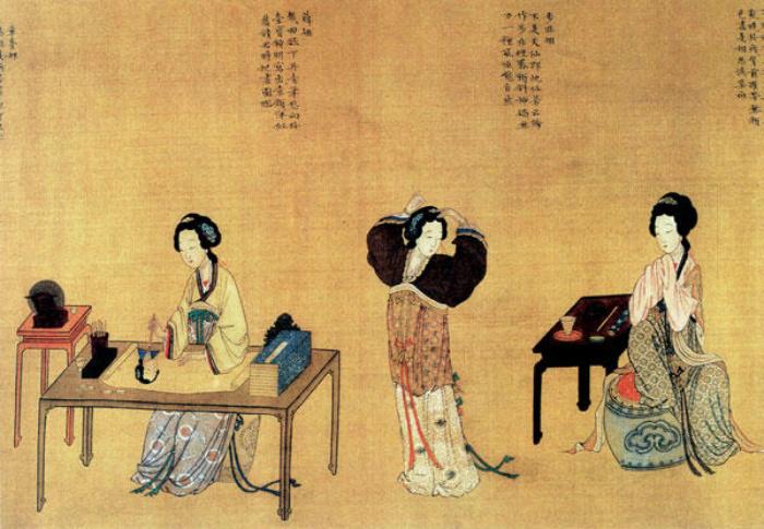 Нормальной женщиной в Древнем Китае считалась только замужняя женщина.