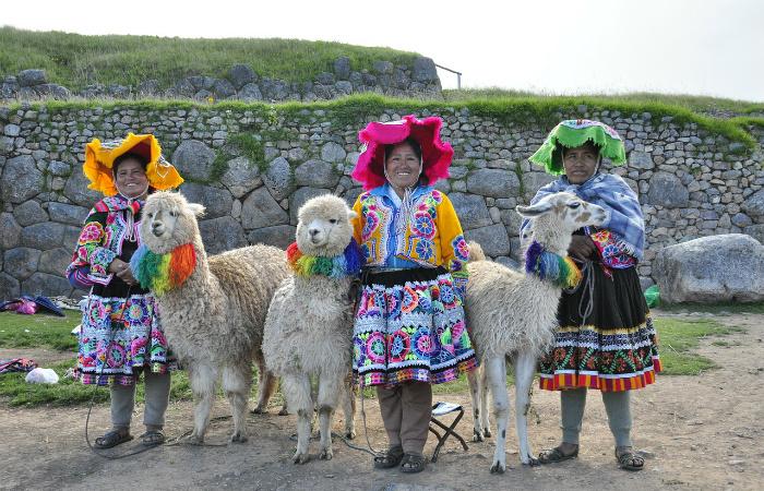 Радуга считалась национальными цветами императорского дома страны инков