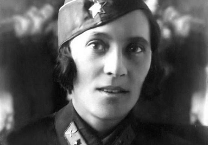 Первая лётчица на Кавказе.