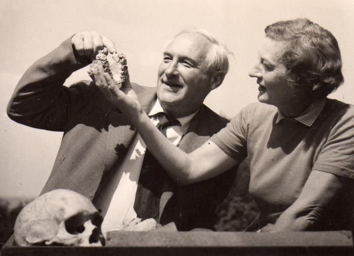 Совместный с женой труд очень многое значил для карьеры Луиса Лики как палеоантрополога.