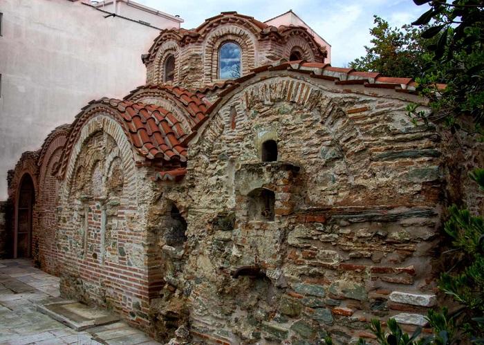 Византийская общественная баня. Императоры туда не ходили.